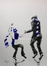 Bristol Rovers -My First Match'  20'' x 30'' Box Canvas Print